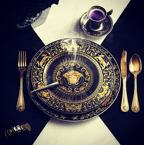 Versace Silverware? & 22 best Brand Plates/Sets images on Pinterest | Dishes Countertop ...