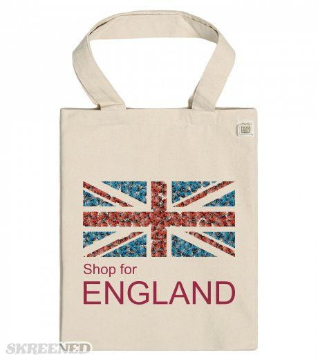 Shop For ENGLAND - ECO Tote bag