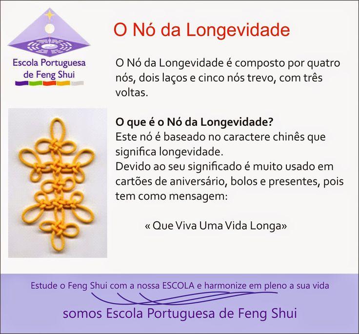 Escola Portuguesa de Feng Shui: NÓ DA LONGEVIDADE