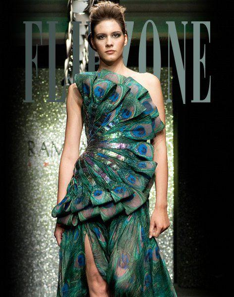 """Rami Al-Ali - Couture - """"The Peacock in you"""", F/W 2009-2010"""