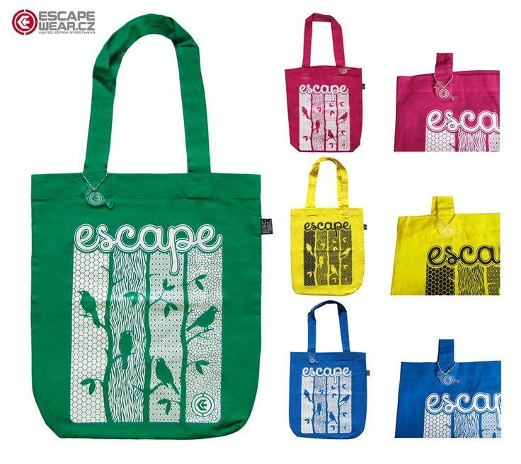 Earth friendly Bags from Escape Wear