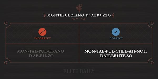 You've Actually Been Pronouncing These Wine Names Wrong This Whole Time