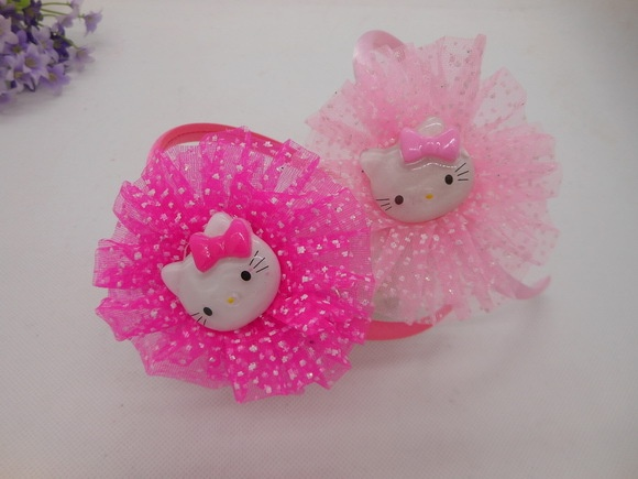Factory outlets,girls fashion head band.classic hello kitty+red/pink+20pcs/lot+charming lace dots childrens cartoon head supplie-in Hair Accessories from Apparel & Accessories on Aliexpress.com