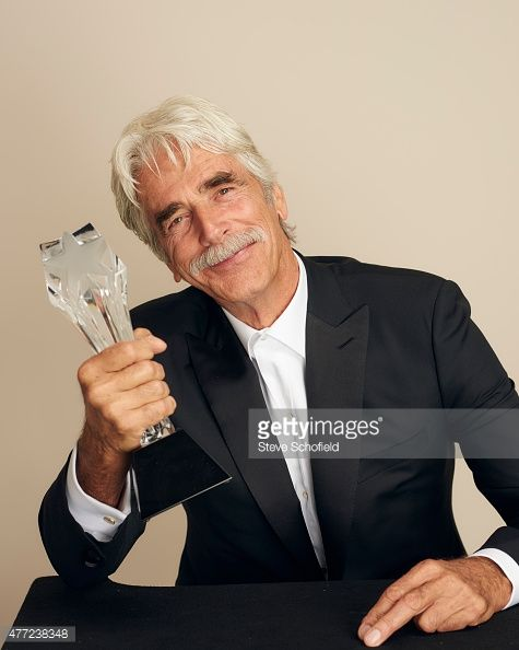 Actor Sam Elliott poses for a portrait during the 5th Annual Critics' Choice Television Awards at The Beverly Hilton Hotel on May 31 2015 in Beverly...