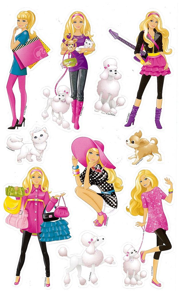 Barbie Sticker Book from Funstra Toys