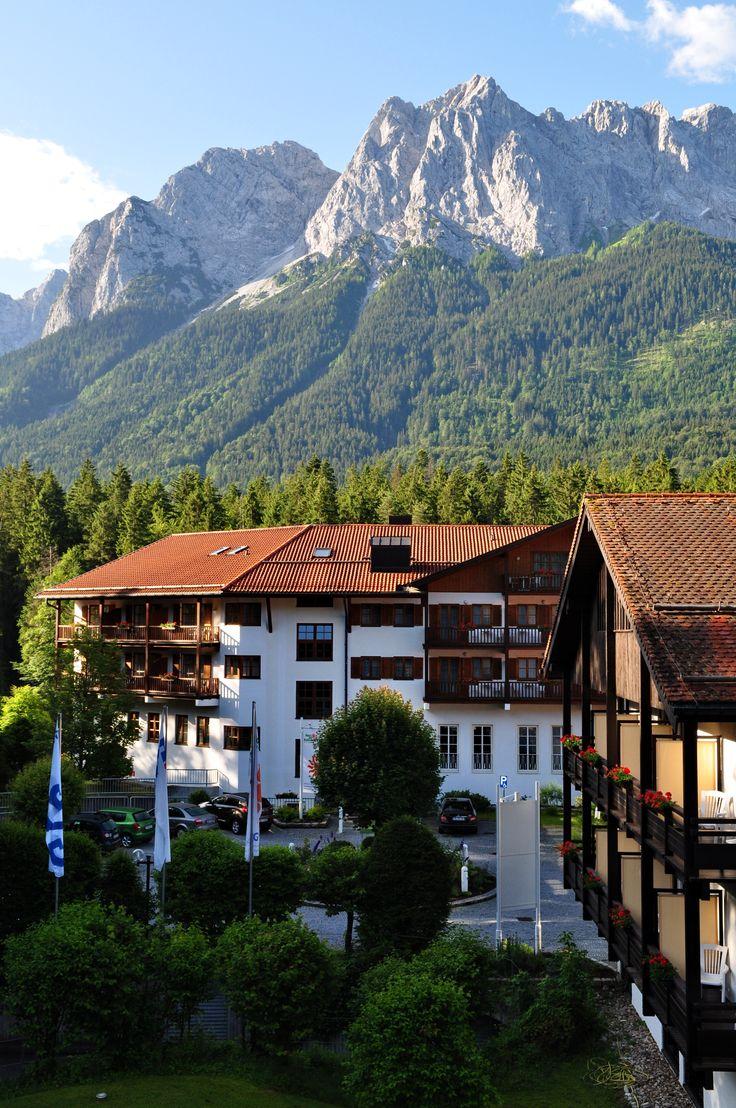 Hotel am Badersee in Grainau, Bayern