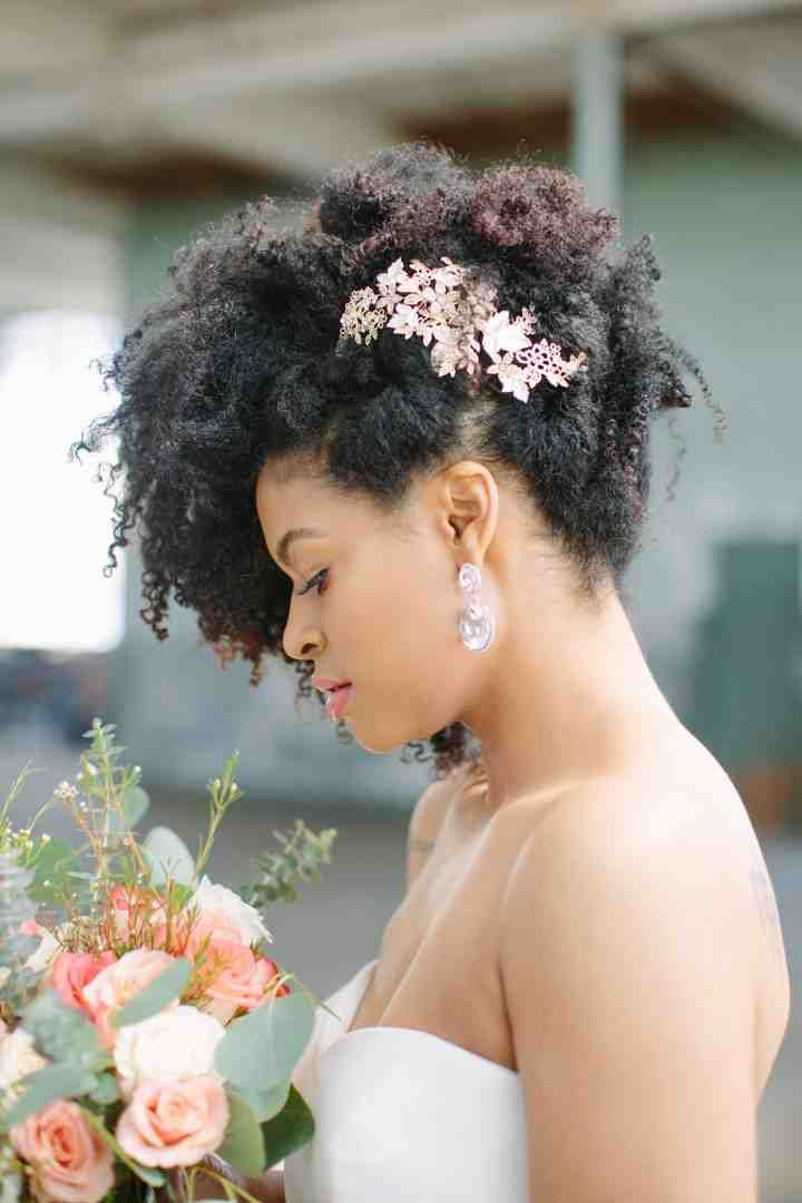 21 Natural Wedding Hairstyles For Every Length Wedding Hair