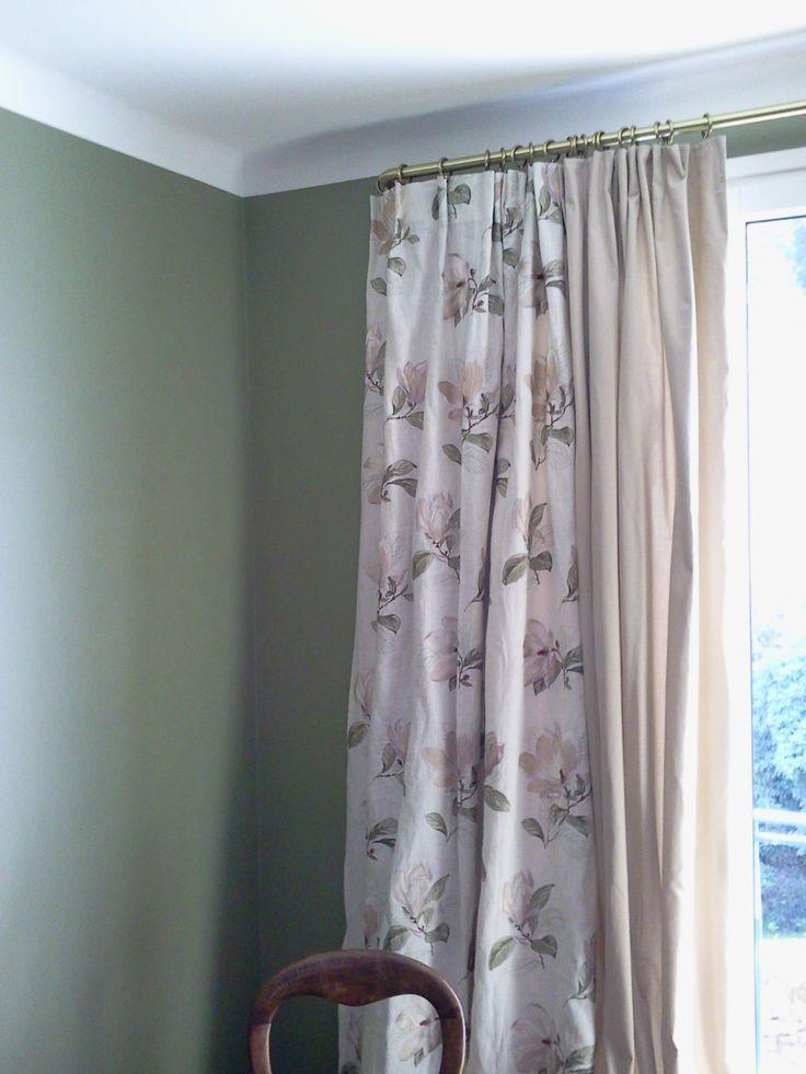 rideaux et sous rideaux doubl s avec tissus occultant habiller une fenetre avec style par. Black Bedroom Furniture Sets. Home Design Ideas
