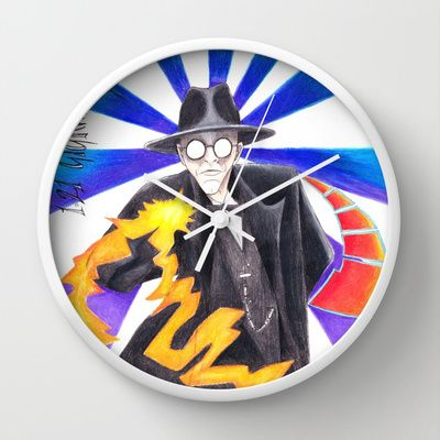 The Judge Wall Clock by ReadThisVA - $30.00