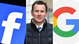 Jeremy Hunt threatens social media with new child-protection laws -  Jeremy Hunt threatens social media with new child-protection laws                                                                                                22 April 2018                                    Image copyright                  Facebook/AFP/GoogleImage caption                                      Jeremy Hunt has written to a number of internet companies including Facebook and Google…