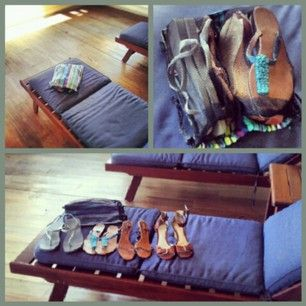 #shoebag carrying #shoes for the long #journey or the quick trip