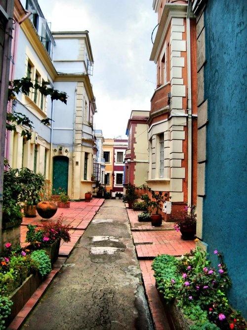 Bogotá, la Candelaria (barrio antiguo) Colombia