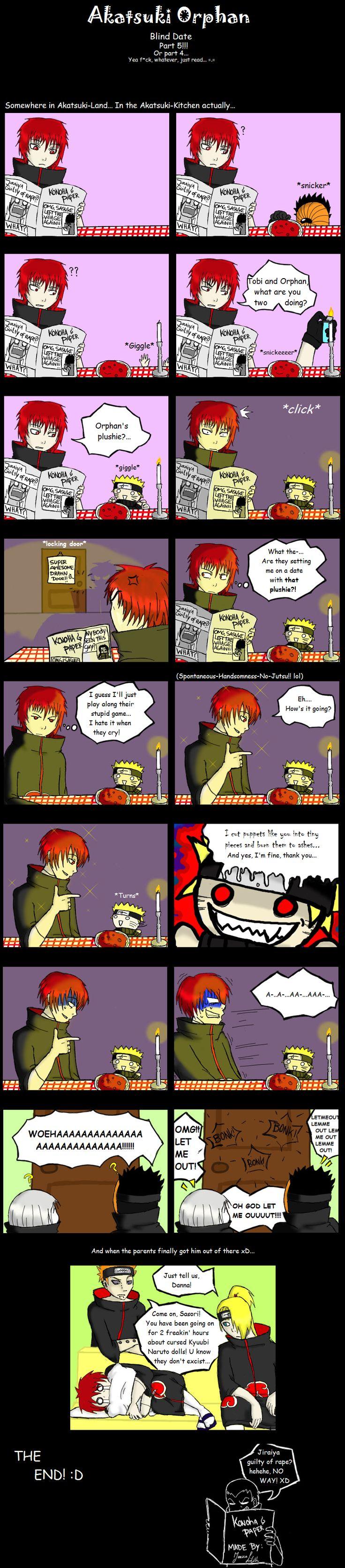 Akatsuki Orphan - Comic 5 by JericaLilith.deviantart.com on @DeviantArt