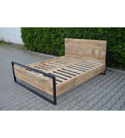 Łóżka Model: Industrialne-TI-5753 tylko @ 2,450 zł. Zamówienie online: http://indianmeble.pl/lozka/industrialne-ti-5753