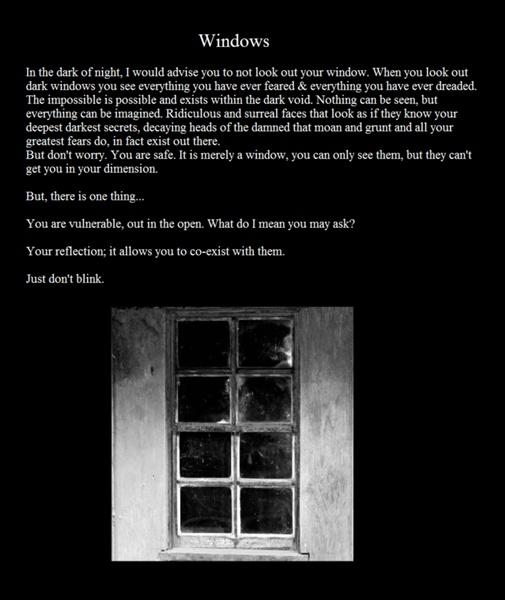 Creepypasta writing | Image - Creepypasta Windows.png - Creepypasta Wiki