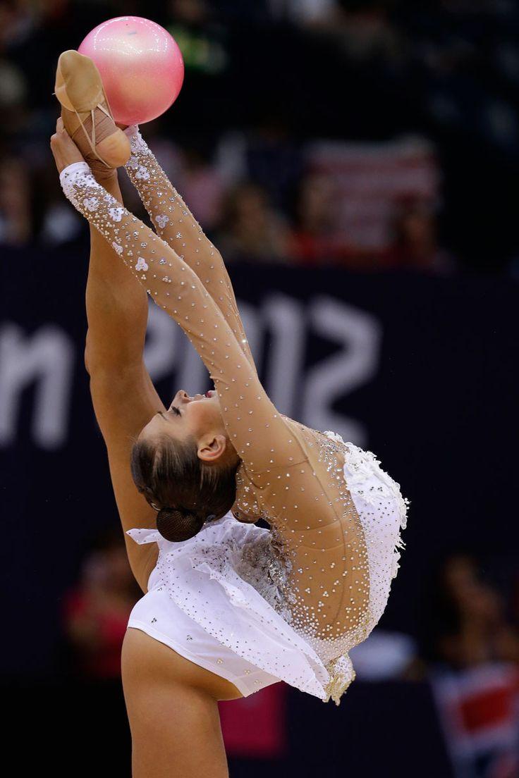 Juegos Olímpicos Londres 2012 - La rusa Evgeniya Kanaeva