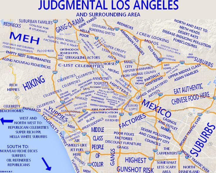 Judgmental Maps: Los Angeles
