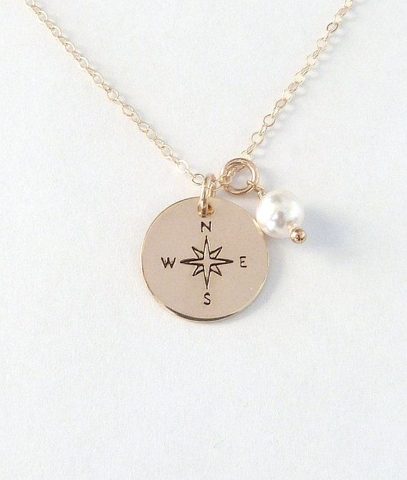 Bridesmaid Gift Ideas - Bridesmaid Jewelry - Bridesmaid Proposal Ideas - Coordinates Necklace
