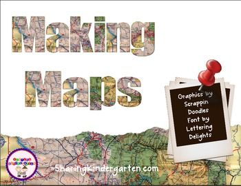 Making Maps Lesson Plans from Sharing Kindergarten