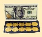 Large Coin Candy for Hanukkah by Chocolicious Candy NY