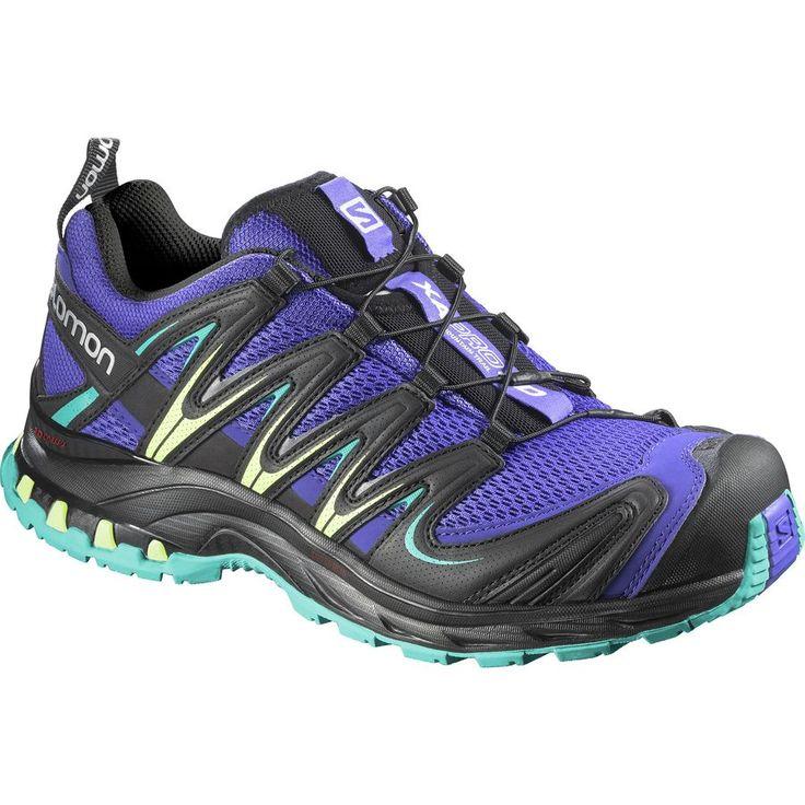 Salomon XA Pro 3D Trail Running Shoe - Women's Spectrum Blue/Black/Teal Blue F