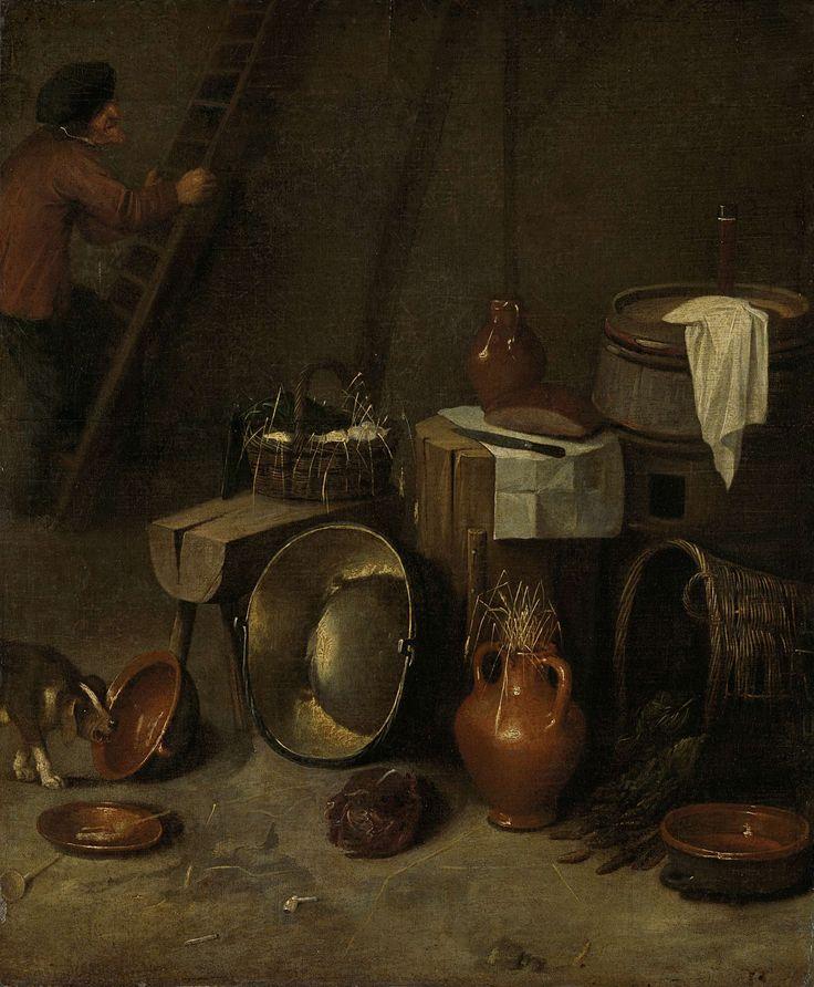Still life in a stableStilleven in een stal, Hendrik Potuyl, 1639 - 1649