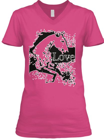 Love your Horse T-Shirt V-Neck