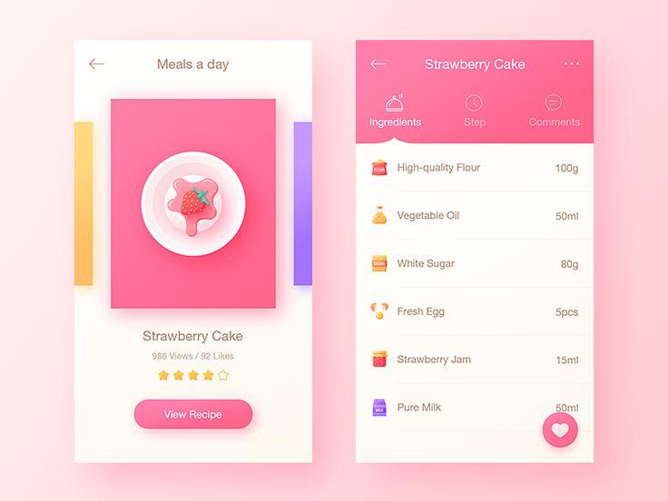 Food App by uiking