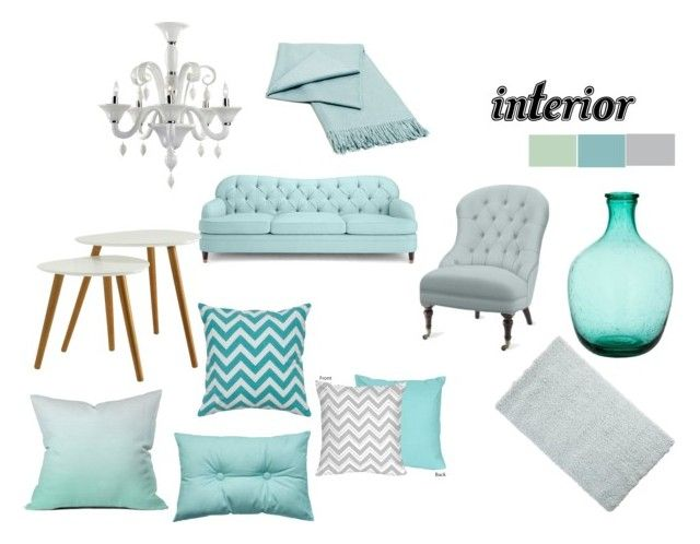 """""""interior"""" by mary-minge on Polyvore featuring interior, interiors, interior design, home, home decor, interior decorating, Kate Spade, Williams-Sonoma, Convenience Concepts and Pier 1 Imports"""