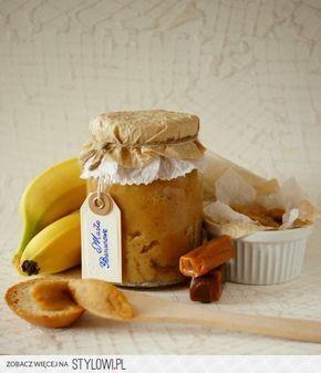 Masło Bananowe z krówką Składniki: -3 duże banany… na Stylowi.pl