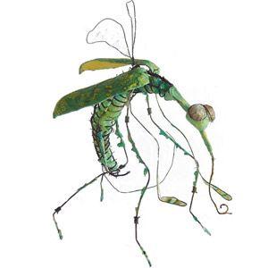 een insect gemaakt door anna van bohemen  meer kunst van haar klik op de link www.annavanbohemen.nl