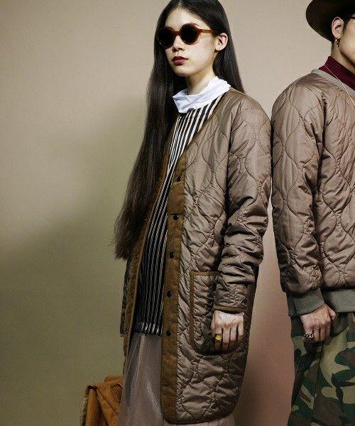 【セール】603 キルティングロングコート(その他アウター) 603(ロクマルサン)のファッション通販 - ZOZOTOWN