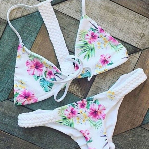 Cool!  Hand-prepared Floral Printed Swimsuit Sexy Bikini Swimwear Bathingsuit just $19.99 from ByGoods.com! I can't wait to get it!
