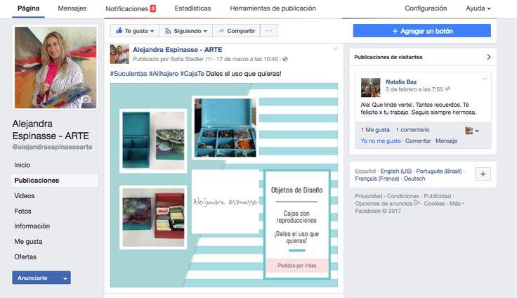 Community Management Alejandra Espinasse Arte