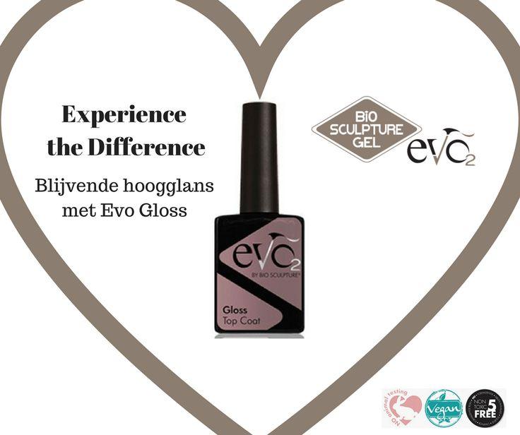 Evo Gloss by Bio Sculpture ~ long lasting high shine.