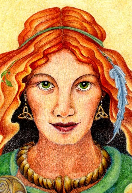"""""""30 Days of Brigid"""" is an ecourse for those who want a daily inspirational touchstone during Brigid's season of the Prelude-to-Spring (known as Imbolc or Candlemas). - See more at: http://www.gaiansoul.com/work-with-me/ecourses/seasonal-ecourses/30-days-of-brigid/#sthash.GyCPOACd.dpuf"""