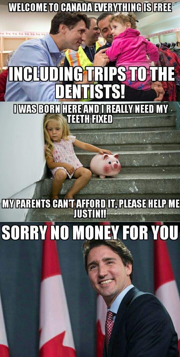 $10.5million to give to a convicted terrorist or  billions of $ to Bombardier to give to their CEOs was not too much, but paying $10,000 in legal fees to prevent paying $6000 for an indigenous Canadian child's required dental work is atrocious.