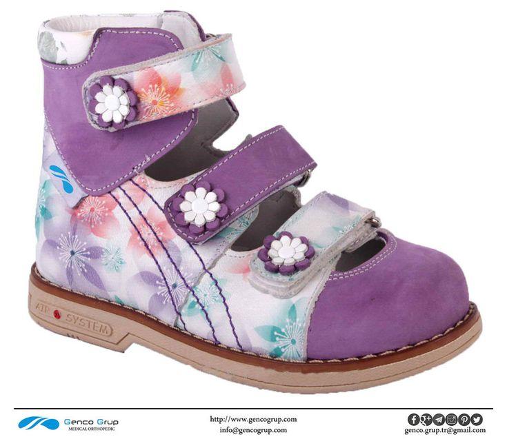D701 : Kız için Düz Ayak Ayakkabıları