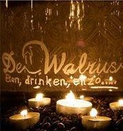 Heerlijk op het terras zitten kan bij De Walrus in Leeuwarden