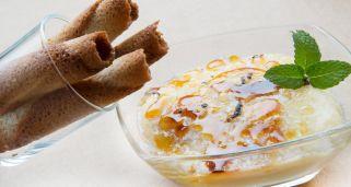 Receta de Crema pastelera con canutillos