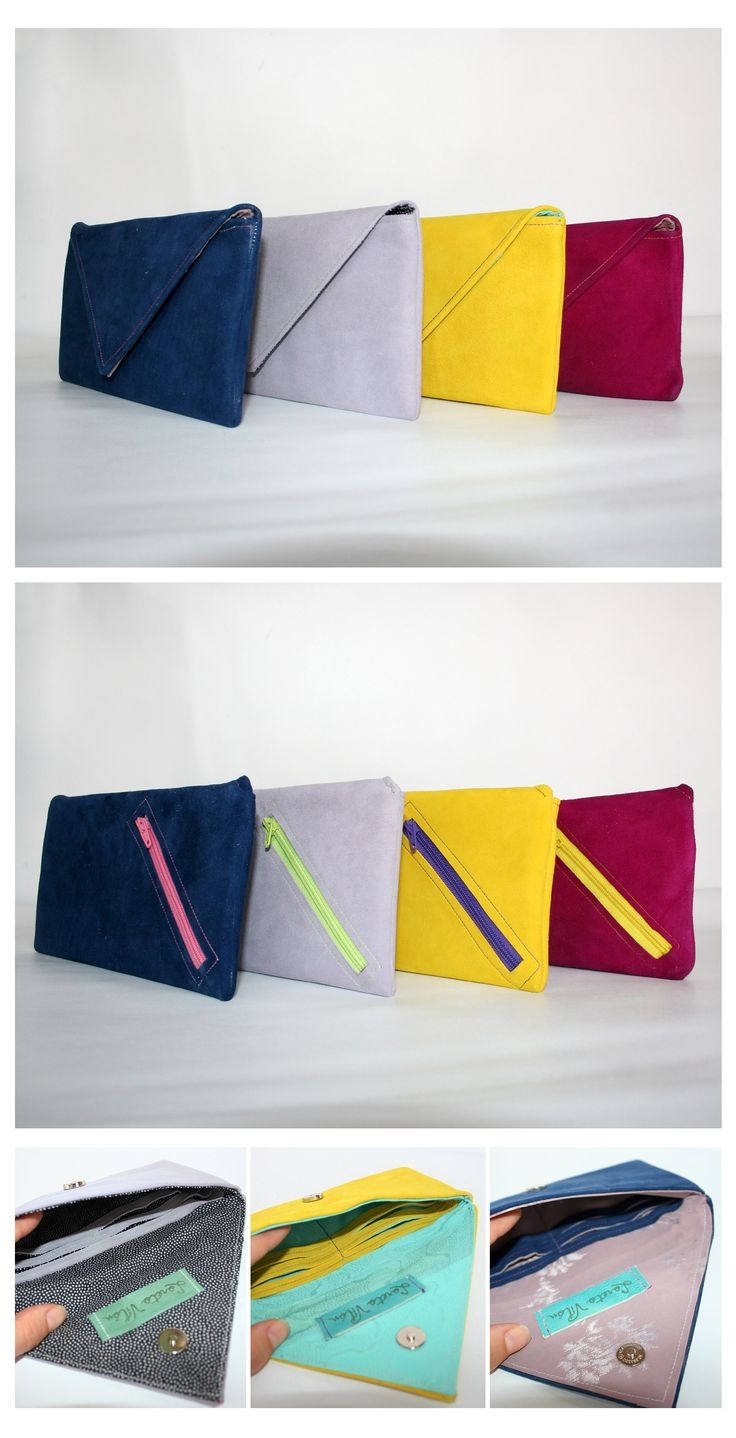 Coloured purses - In stock