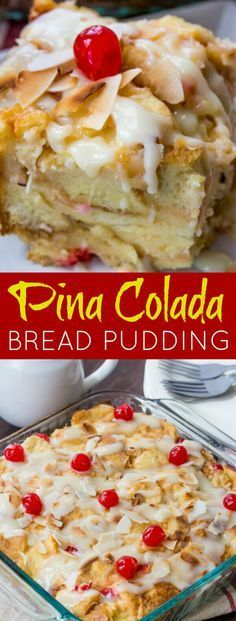 A fruity, coconuty, flavorful treat this Pina Colada Bread Pudding is perfect for breakfast, brunch or dessert! So I love taking spins on classic treats, that is no surprise right? I mean just take a loo at my Banana Split Waffles my Peanut Butter and Jelly Rolls or my Supreme[Read more]