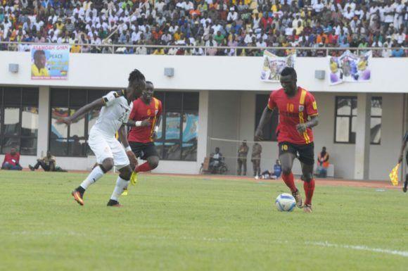 Гана – Уганда