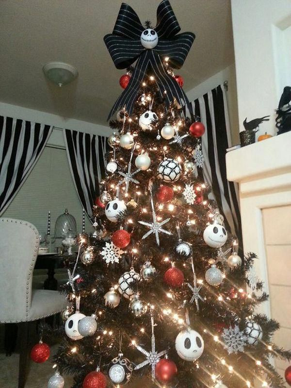 Nightmare Black Christmas Tree Ideas Home Design And Interior C Nightmare Before Christmas Tree Nightmare Before Christmas Decorations Disney Christmas Tree