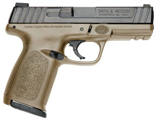 Smith & Wesson 11999 SD Double 40 Smith & Wesson (S&W) 4 14+1 Flat Dark Earth