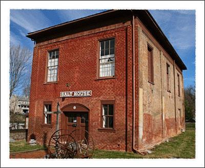 Jonesborough Tennessee Salt House, Jonesborough  Tennessee , Tennessee's oldest Town.