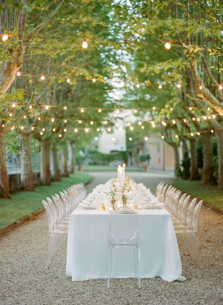 Italian venue al fresco wedding table decor: Venue: Villa La Selva - http://www.stylemepretty.com/portfolio/villa-la-selva Wedding Dress: Sweetheart - http://www.stylemepretty.com/portfolio/sweetheart-2 Floral Design: Stiatti Fiori - http://www.instagram.com/Stiatti_Fiori_/   Read More on SMP: http://www.stylemepretty.com/destination-weddings/italy-weddings/2017/03/20/intimate-destination-wedding-in-tuscany-2/