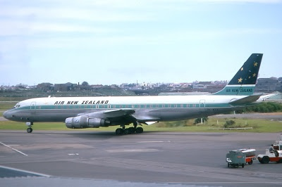 Air New Zealand DC-8 pre Koru tail