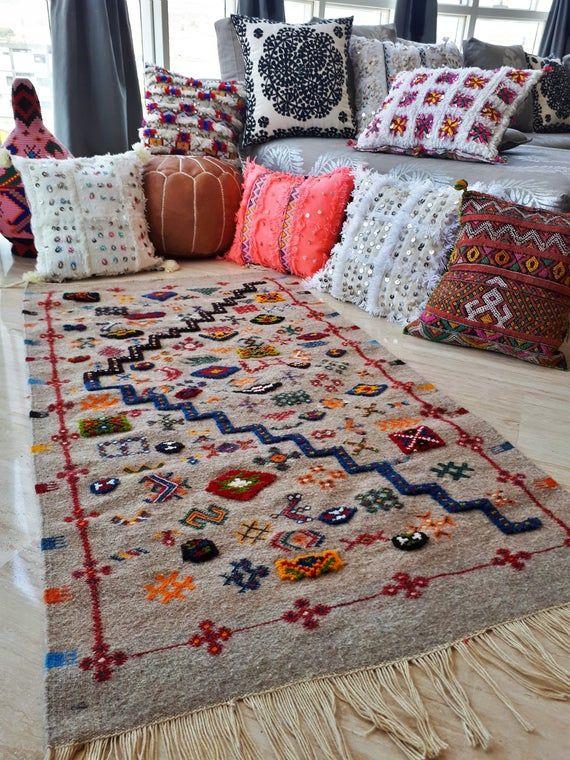 """berber carpet """"taznakht""""  handmade  tapis tapis berbere"""