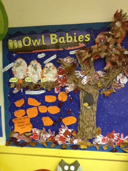 Owl Babies Story Book Classroom Display Photo - SparkleBox